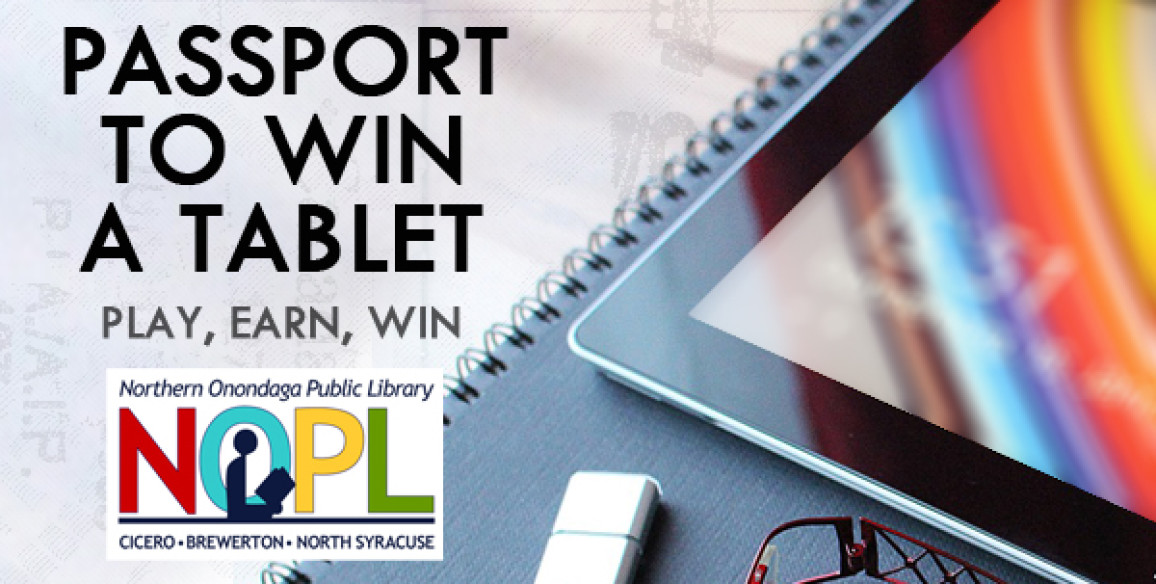 Passport to Win a Tablet!