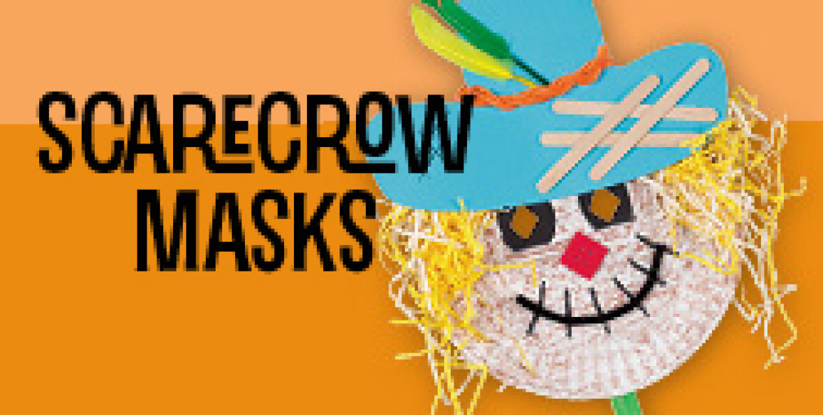 Discovery Den Project: Scarecrow Masks