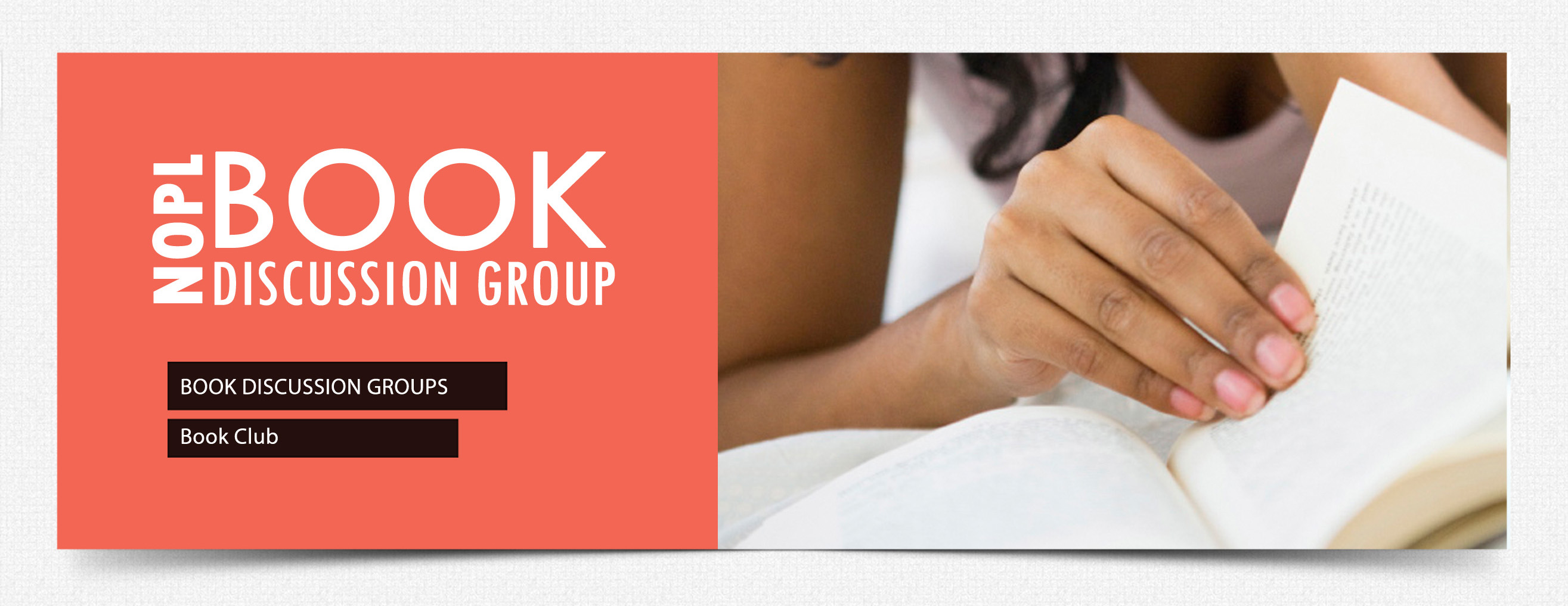 Book Discussion header