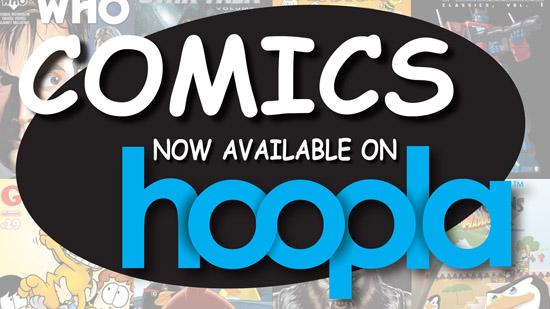 Comics on Hoopla