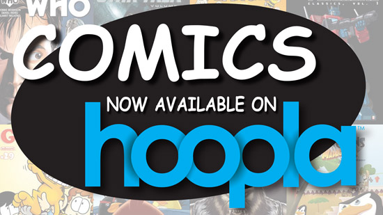 Comics on Hoopla
