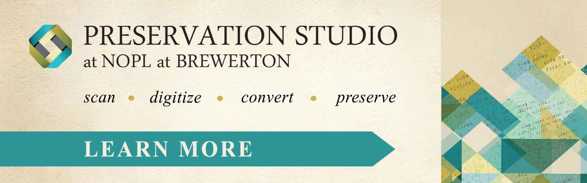 Preservation Studio NOPL Brewerton