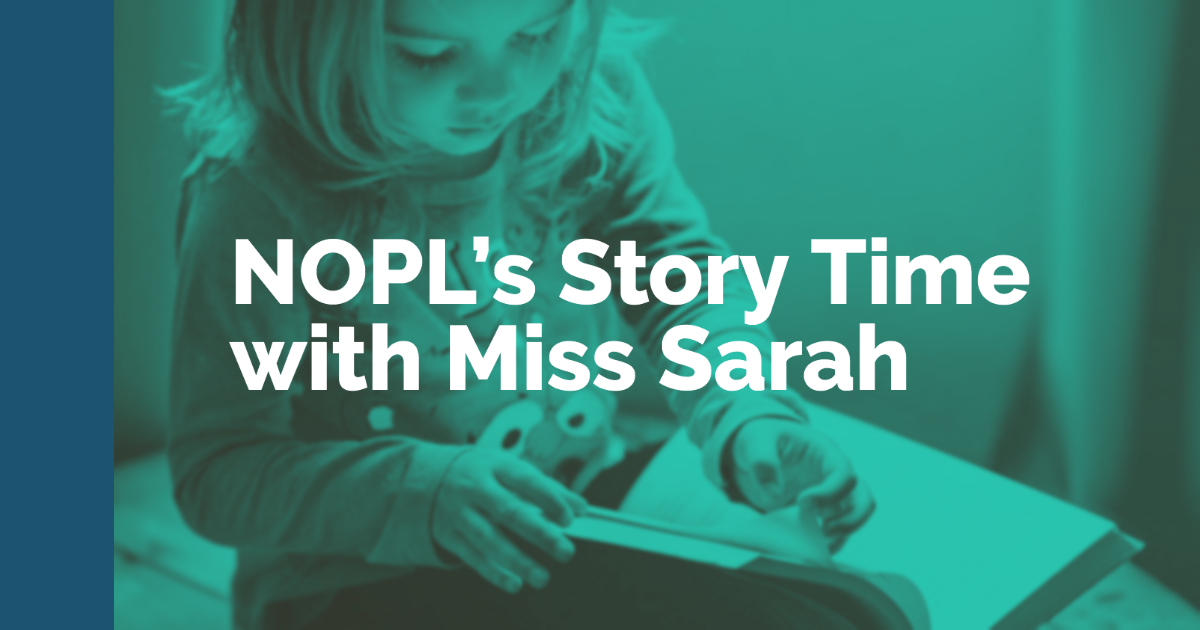 Story Time with Miss Sarah