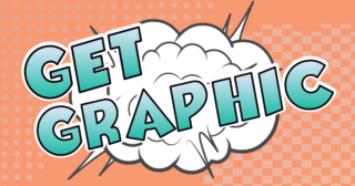 Get Graphic in graphic Novel style text