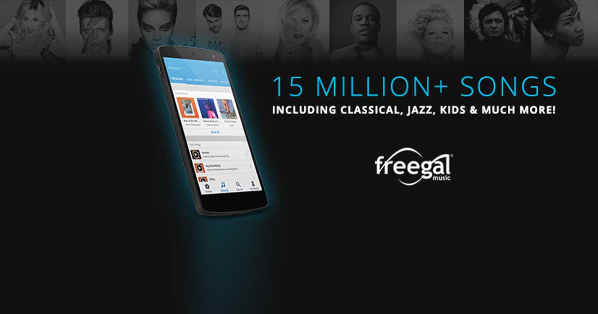Listen to Music on Freegal